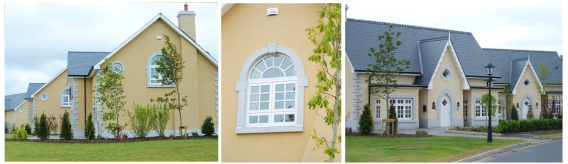 Bespoke casement style windows at the K'Club Golf Resort