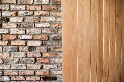 Barn style internal sheeted door