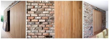 Barn style internal sliding door
