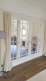 Internal double doors and side screens