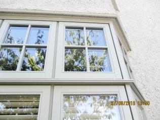 Bay window - window line style