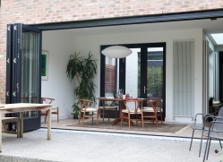 #OpenYourHome with a McNally Joinery Bi-fold door