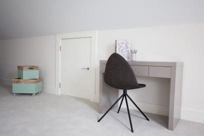Mini attic door