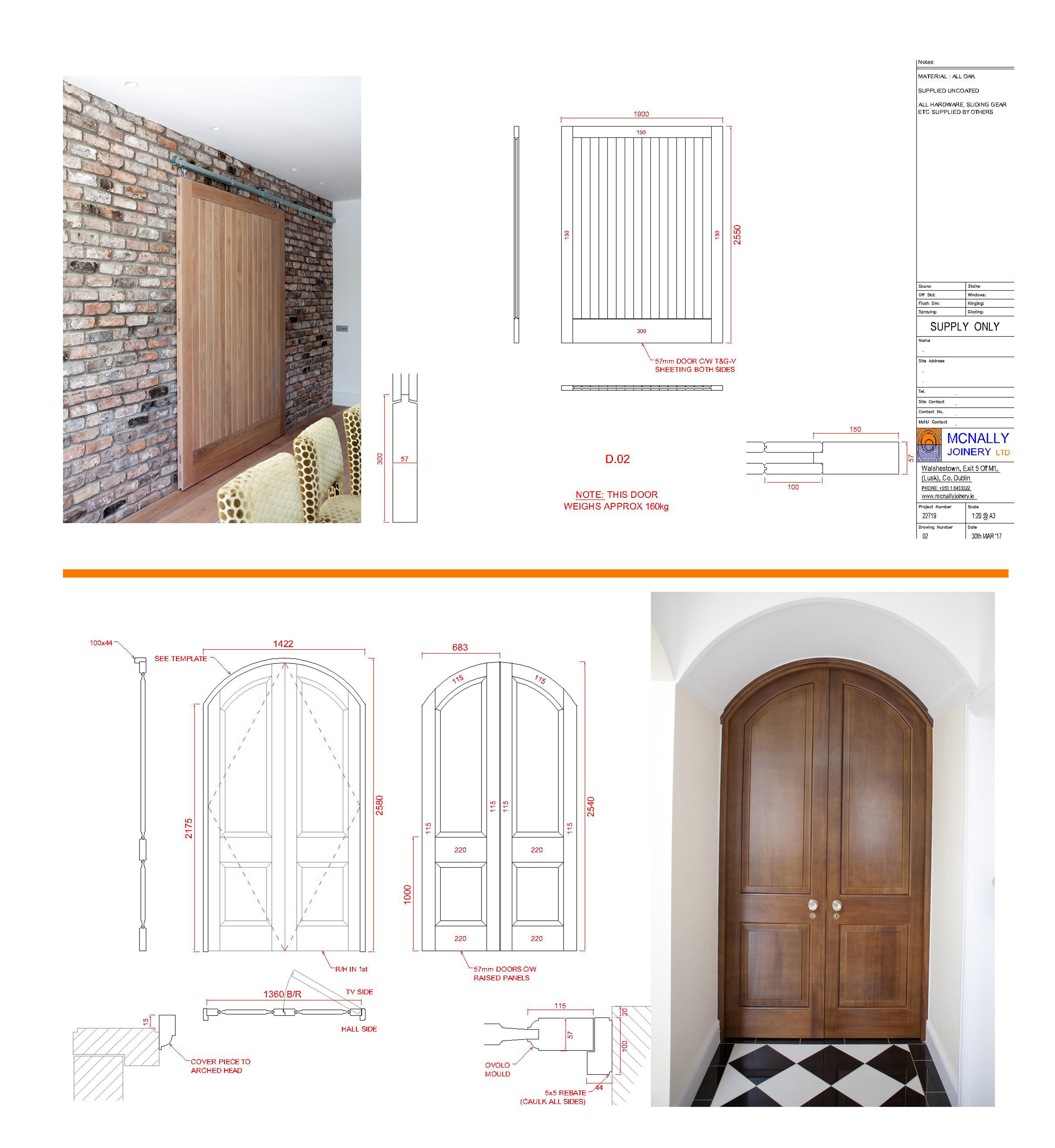 Internal Doors CAD