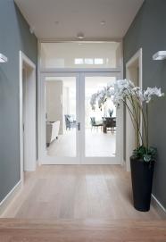 Double doors and fanlight