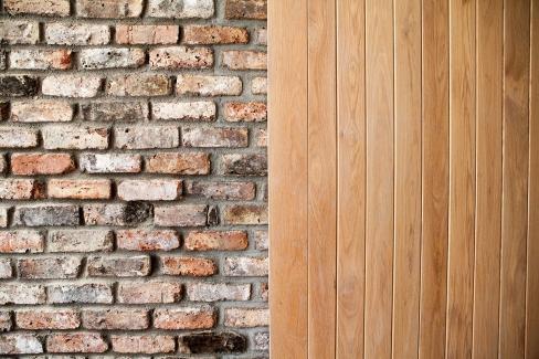 Barn style TG&V internal sheeted door