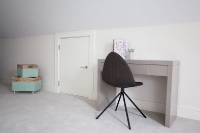 Miniature attic flush door
