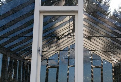 Glasshouse reflections