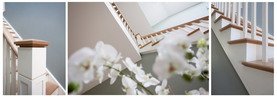 Dual colour feature staircase