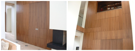 Commercial wall panelling