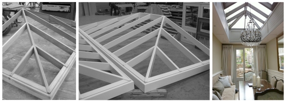 Roof light from production to finished product