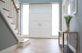 Dual colour front doors